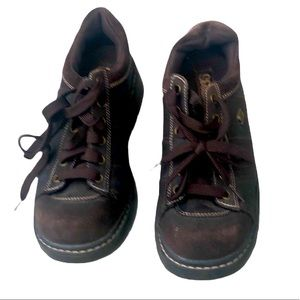 Skechers brown Fall Winter sneakers shoes Size 7.5